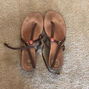 Size 10 Used Lilly Pulitzer Sandals